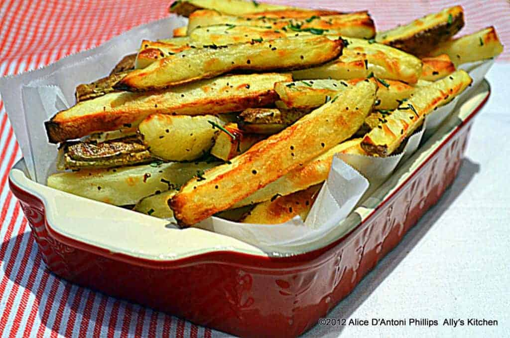 peasant herb oven fries