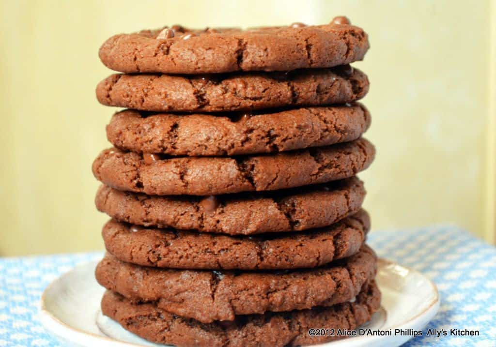 Chocolate Cookies...Same Batter...Four Versions