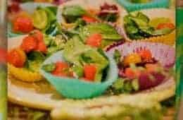 Watermelon Grape & Cherry Tomato Salad ANTHROPOLOGIE