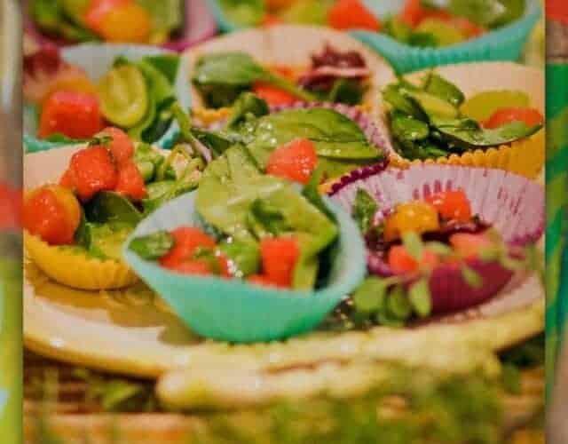 Watermelon Grape & Cherry Tomato Salad ANTHROPOLOGIE