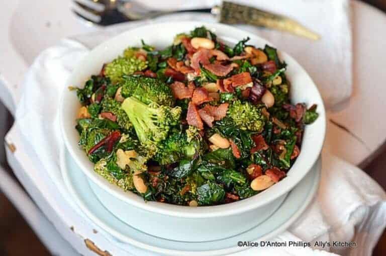 Healthy Easy Broccoli Cannellini Bean Bowl