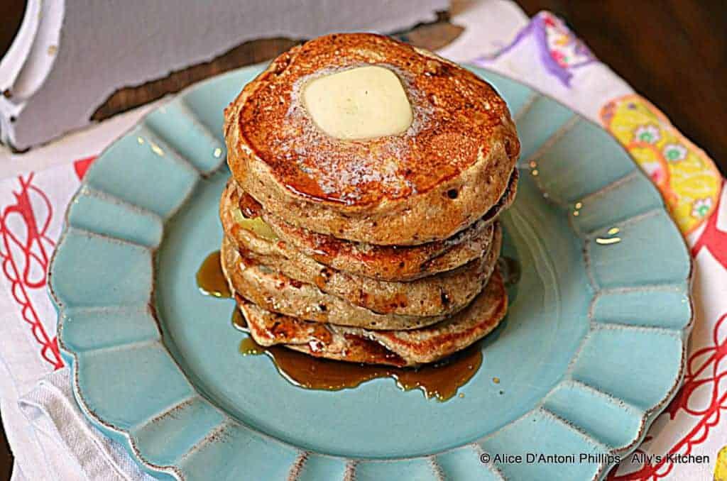 Buckwheat Buttermilk Banana Pancakes