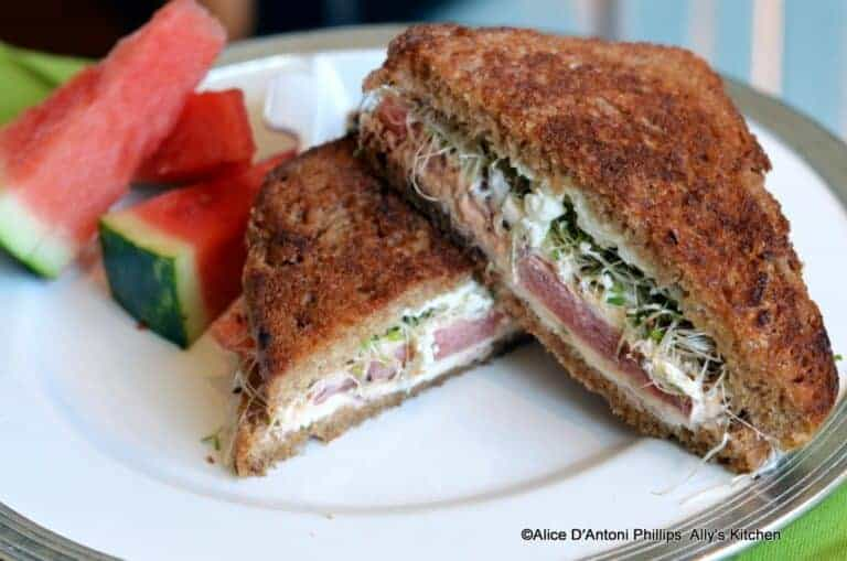 The Mountain Hippie Grilled Cheese