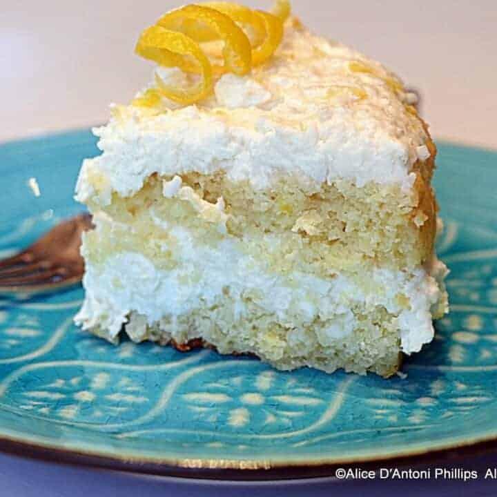 Lemon Coconut Cake