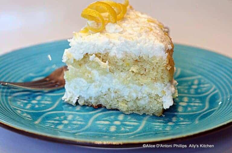 Lemon Coconut Baby Cake