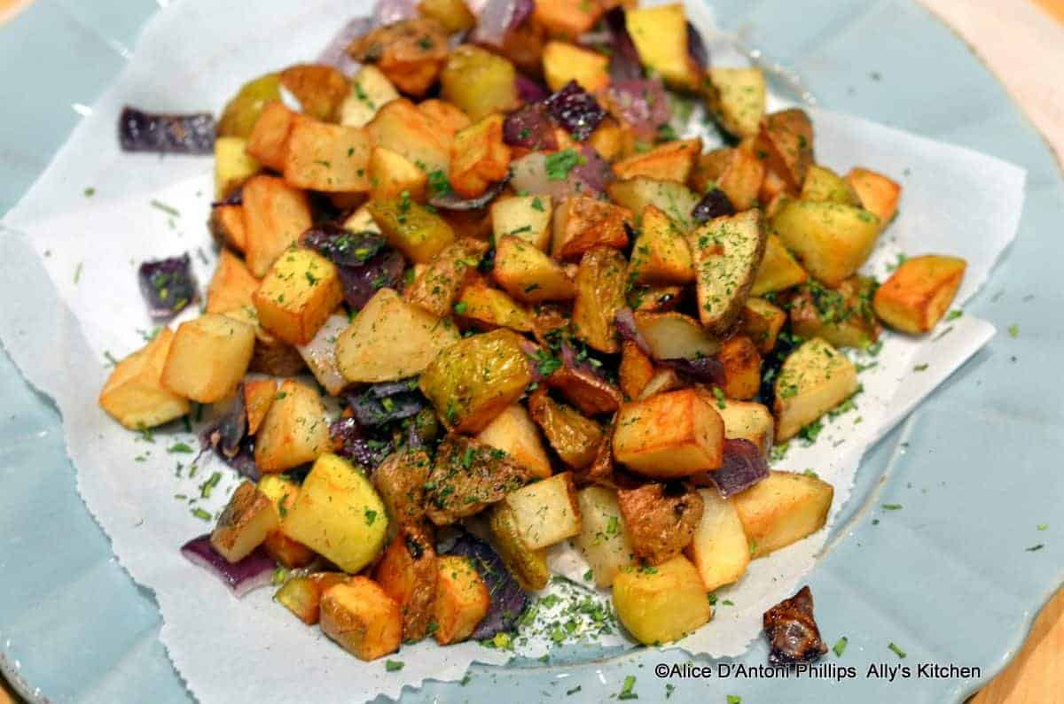 Good fried potatoes with onions 53