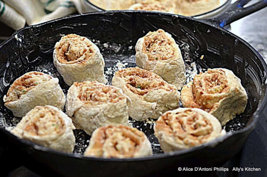 Cinnamon Almond Rolls