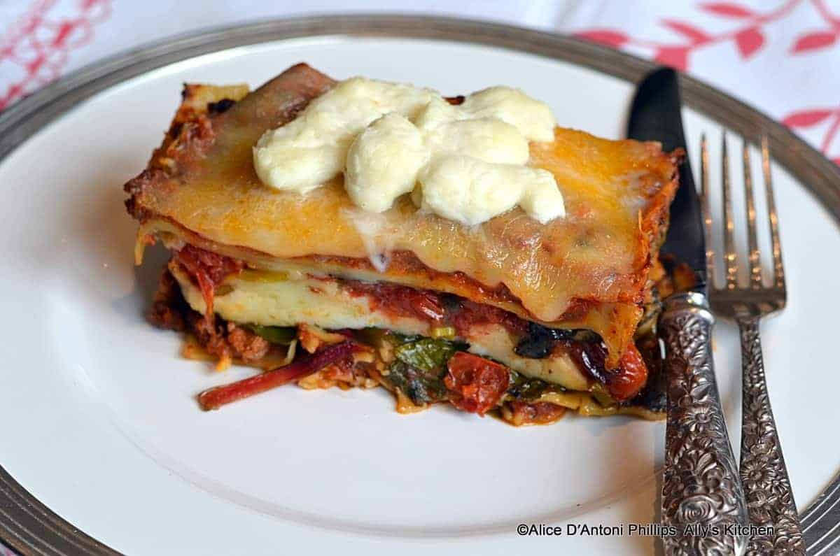 Bohemian Lasagna with Veggies