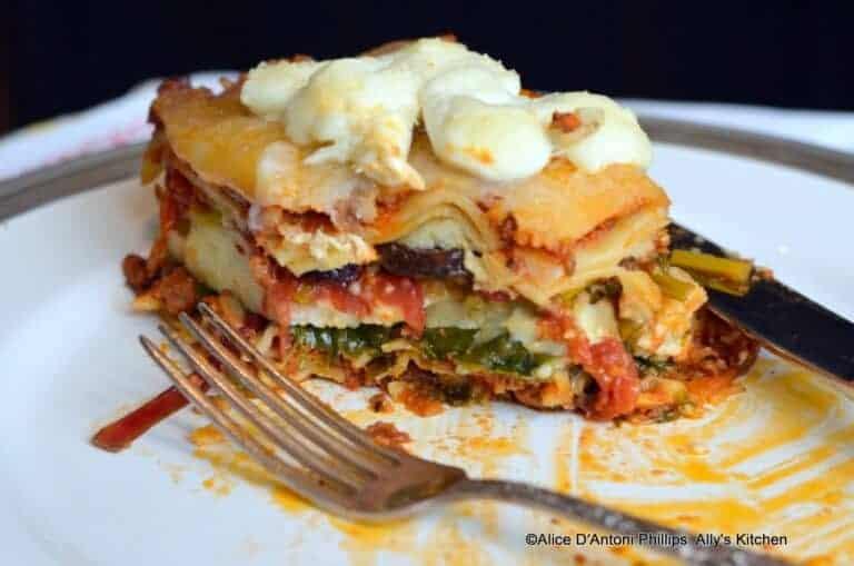 Bohemian Lasagna with Veggies