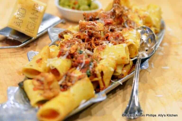 rigatoni & smoked italian sausage chicken sauce