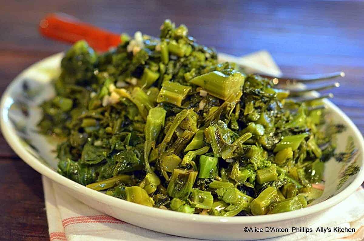 Garlic & Lemon Broccoli Rabe