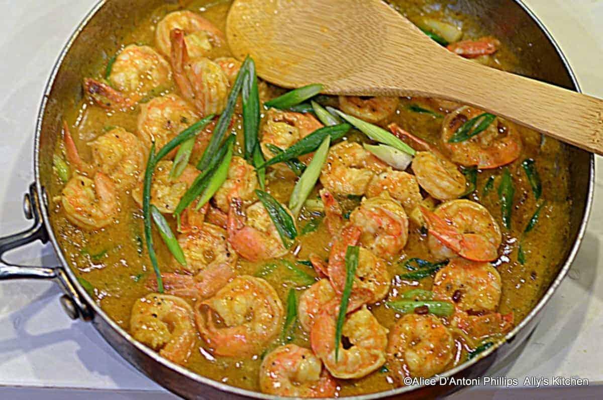 madras curry shrimp
