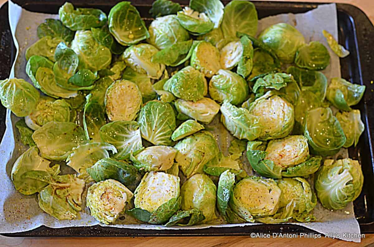 Chili Cumin Roasted & Charred Brussels Sprouts