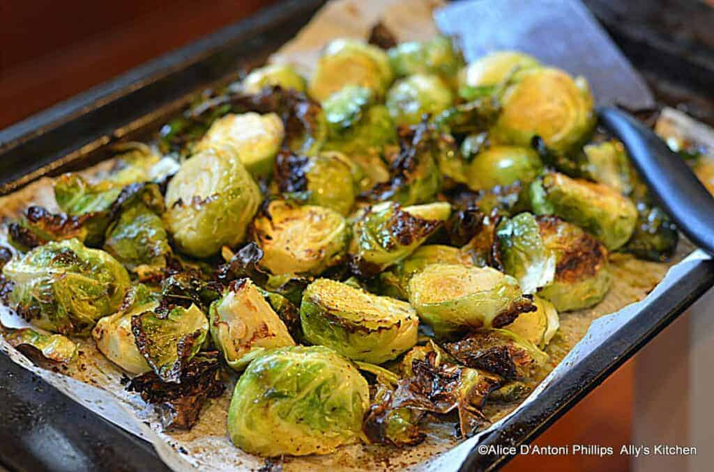 chili brussels sprouts