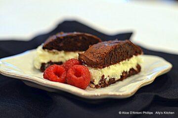 Sumatra Chocolate Coconut Cream Filled Sandwich Cookie