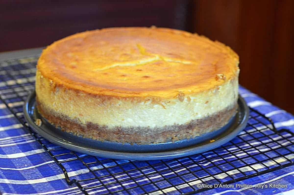 Lemon Orange Marmalade Ultimate Cheesecake