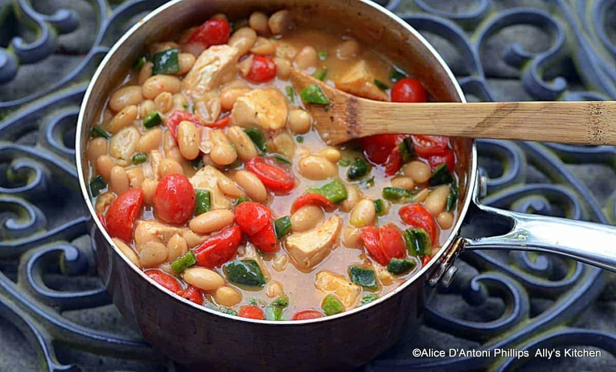 Smokey Pablano Cannellini Beans & Chicken
