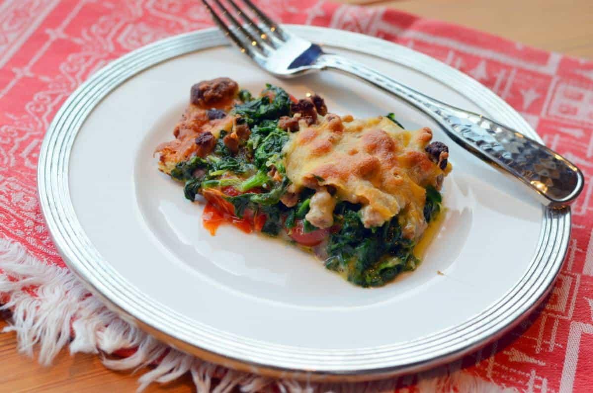Black Bean Spinach & Cherry Tomato Pizza