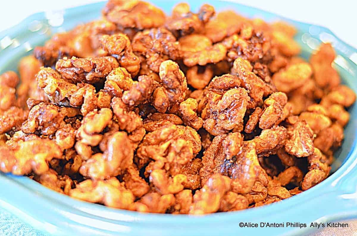 Sea Salt & Raw Sugar Cinnamon Roasted Walnuts