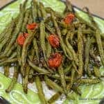Charred & Roasted Fresh Green Beans