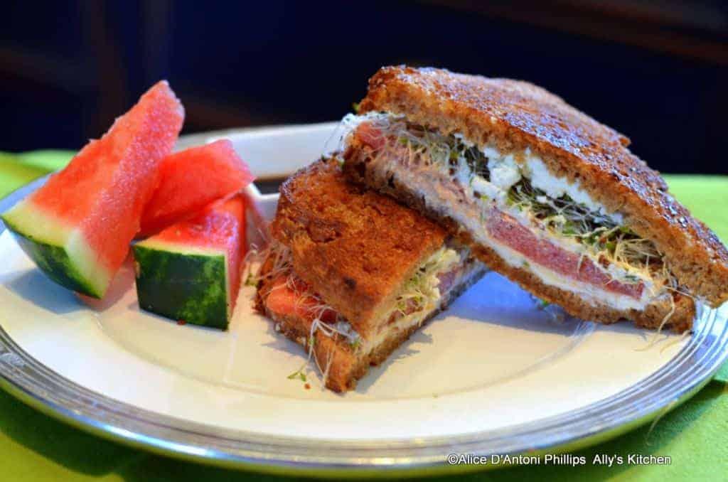 boho picnic sandwiches