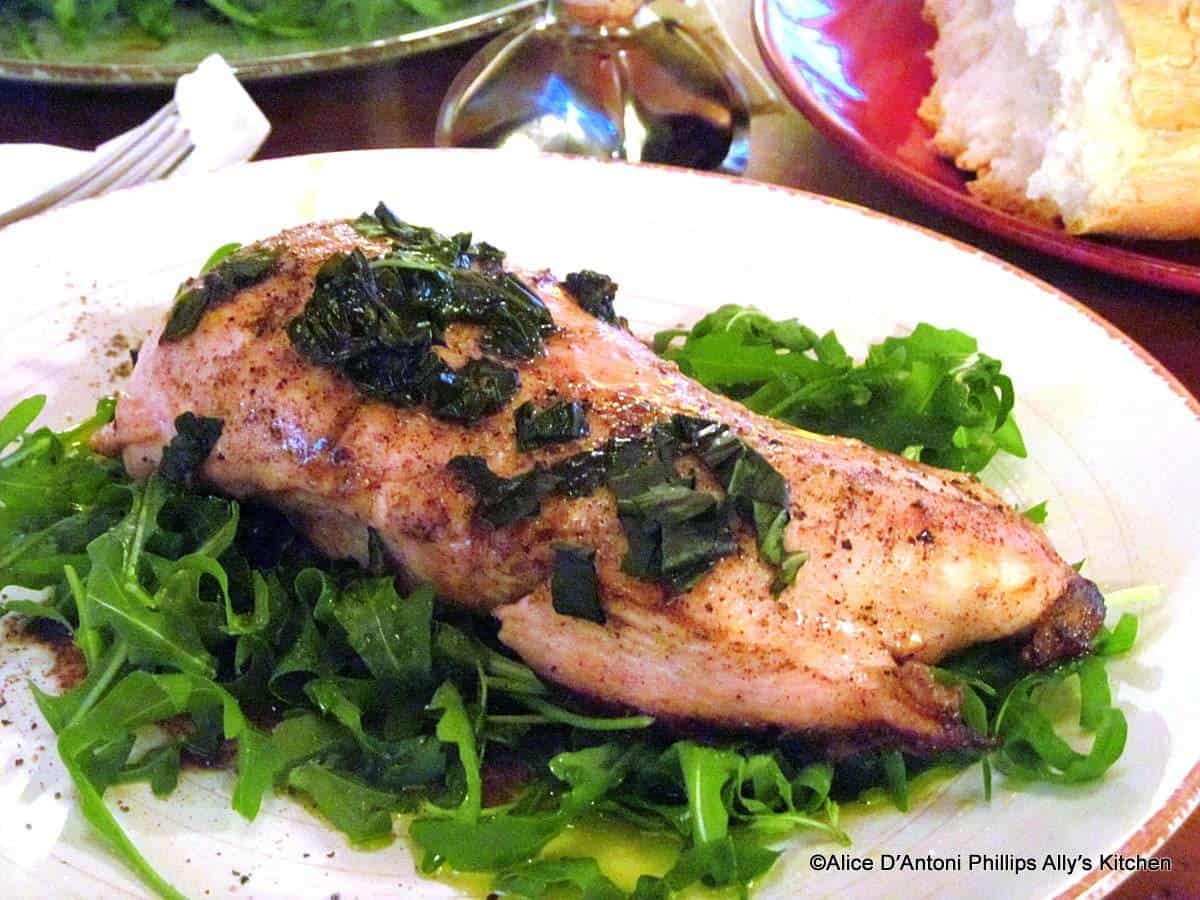 Balsamic Basil Pan Seared Chicken