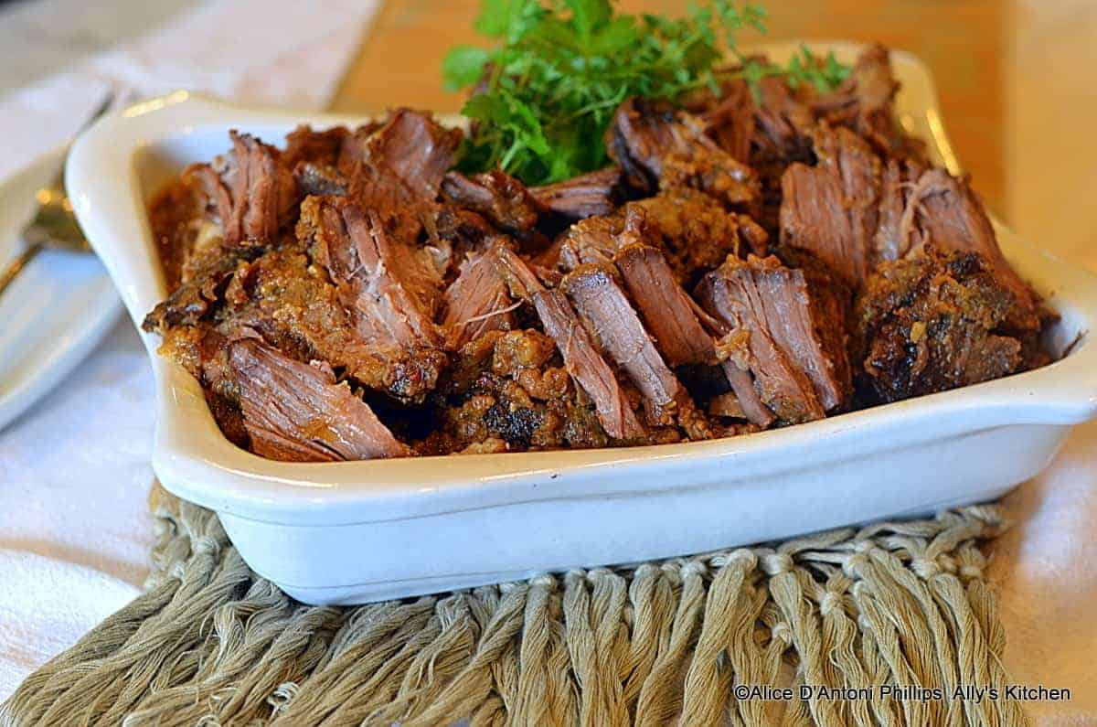 Bourbon & Brown Sugar Chuck Roast