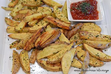 Spicy Greek French Fries