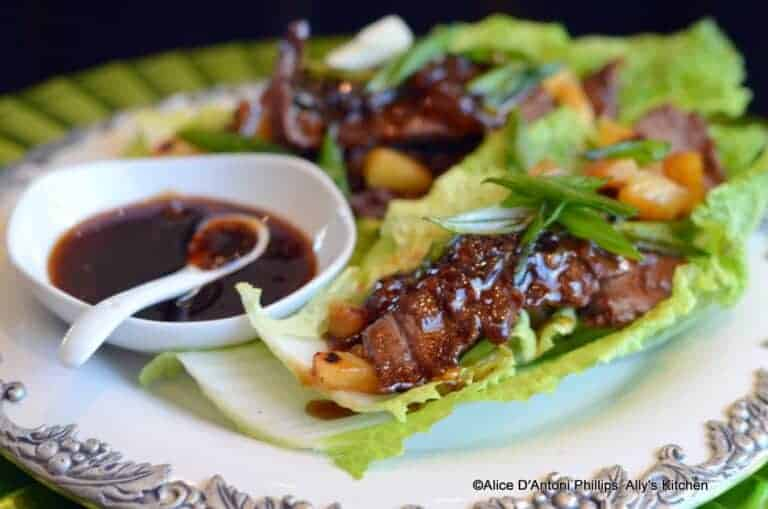 Napa Beef Wraps