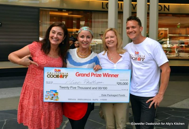 Grill a Winner from the DOLE California Cook Off!