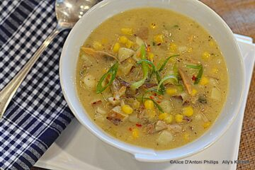 smoky clam chowder