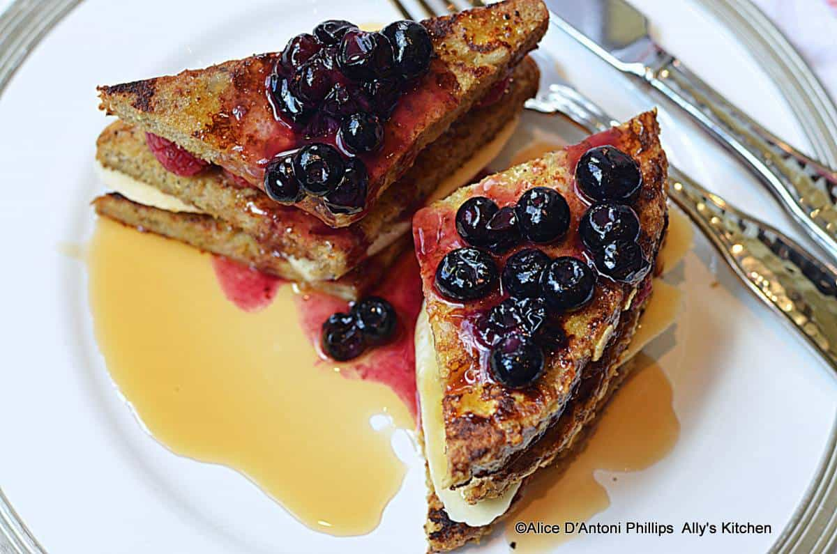 ~healthy fruit french toast~