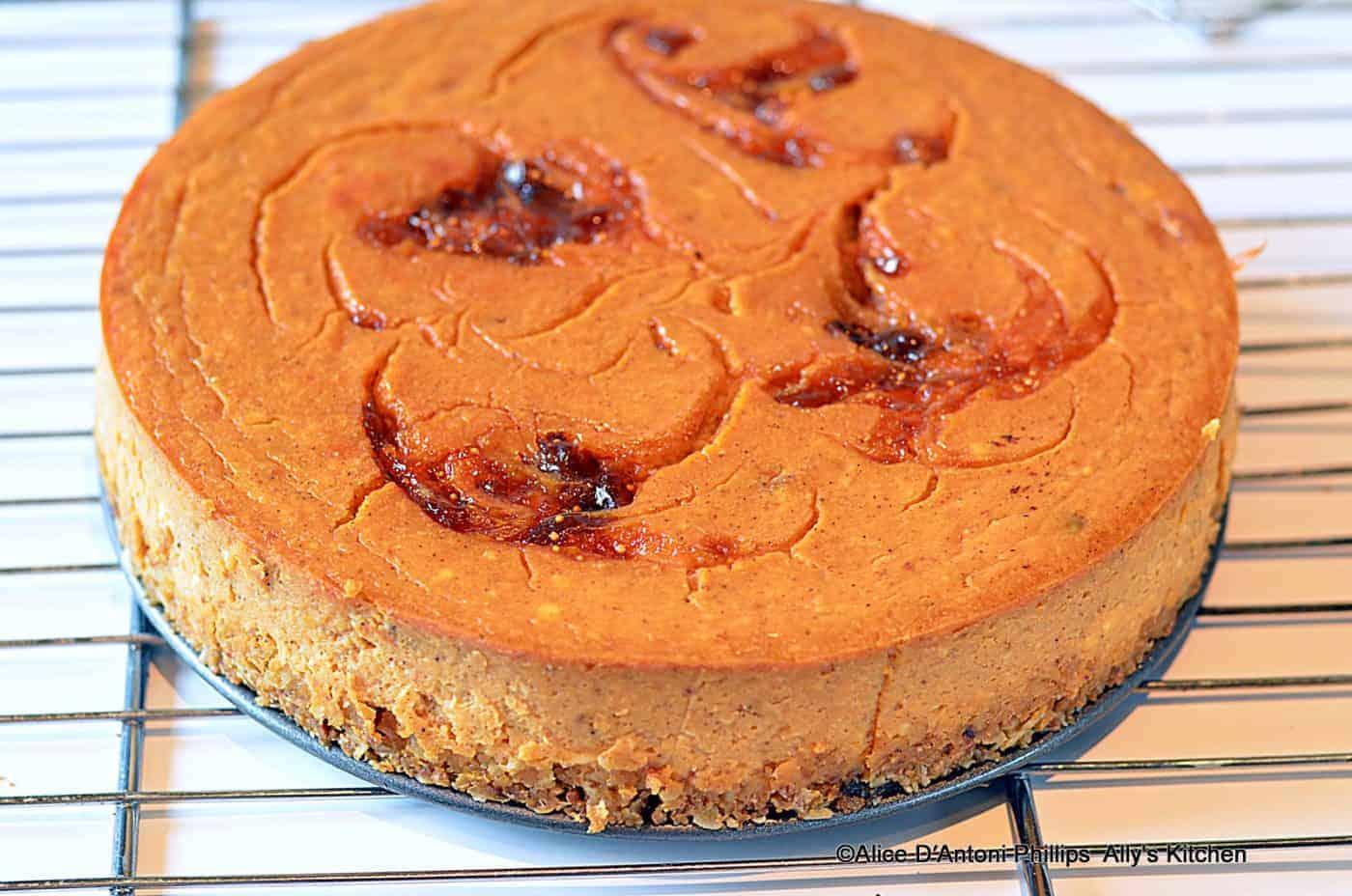 Trail Mix Sweet Potato & Pineapple Cheesecake
