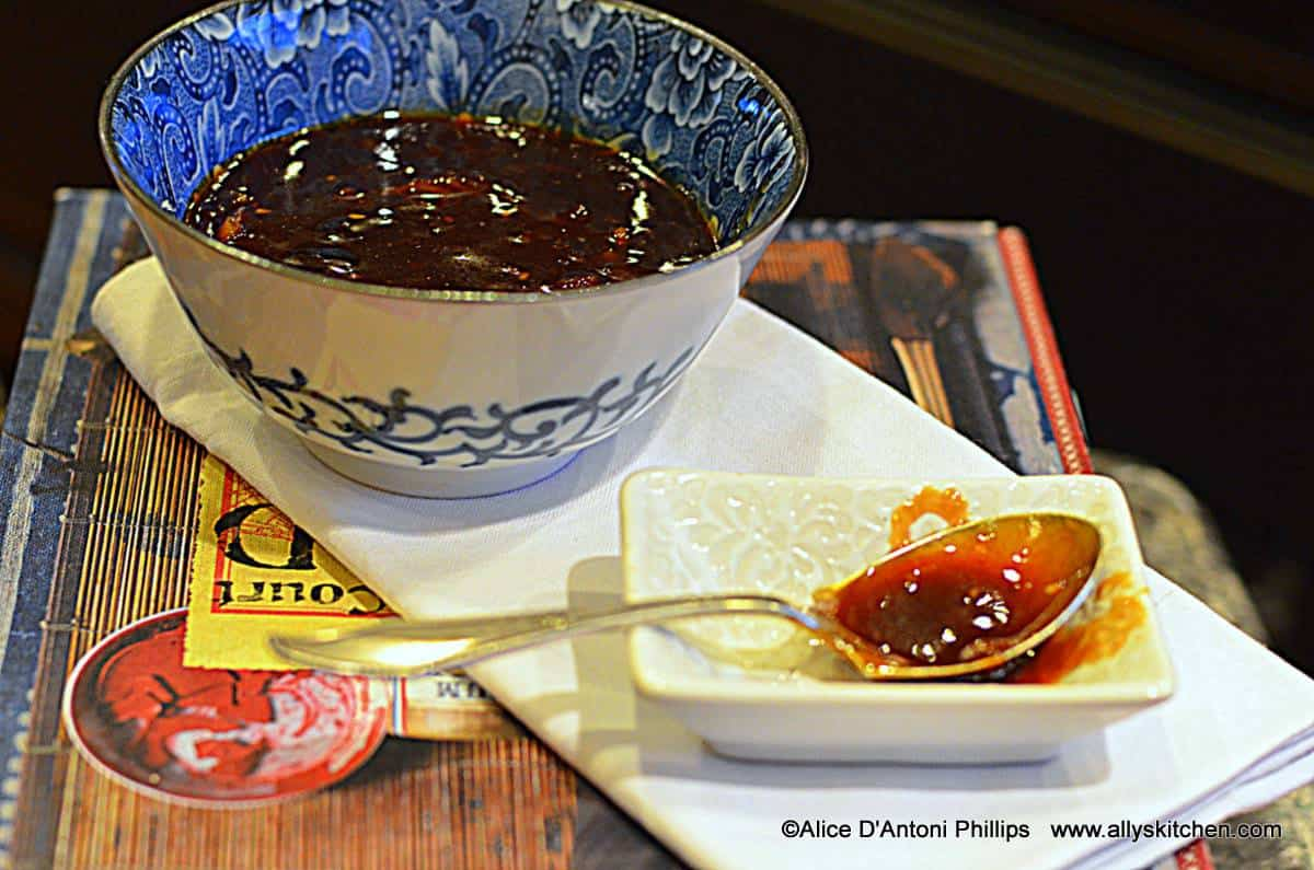 Orange Marmalade Spicy Soy Sauce