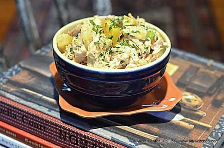 Herb Fruit & Lime Chicken Salad