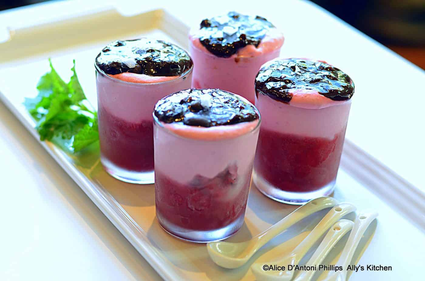Amalfi Coast Raspberry Mascarpone Desserts