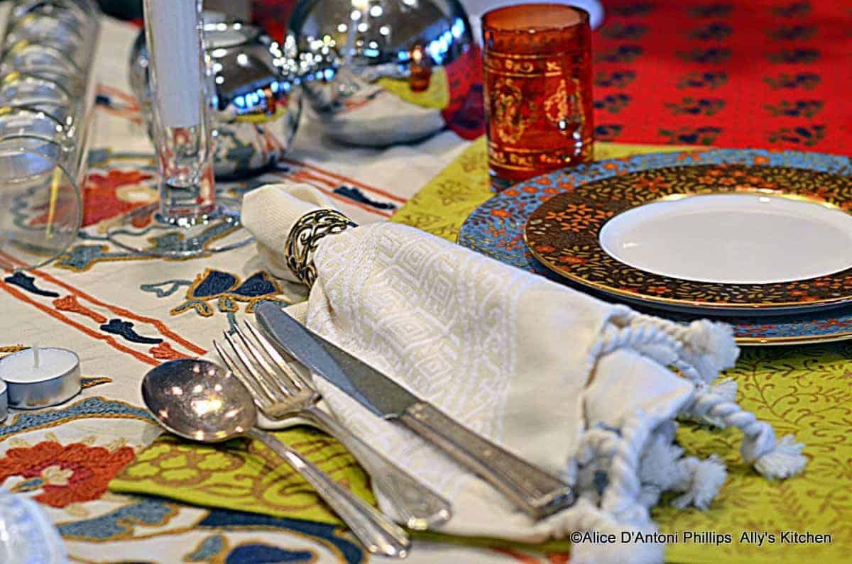 a boho table~~temrika meslalla~~