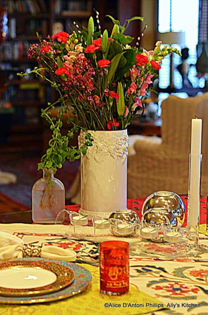 a boho table~~temrika meslalla~~