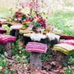 boho dining~~on your own porch, deck, patio, yard~~whereever