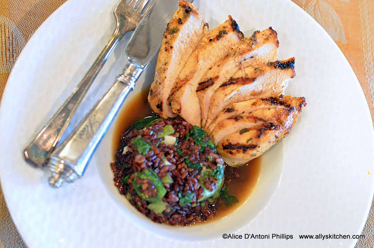 ~moroccan grilled chicken breast~