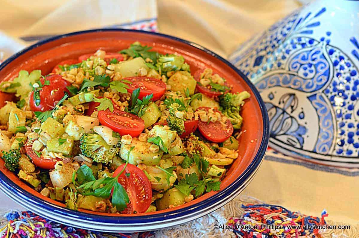 Tangine of Fresh Vegetables