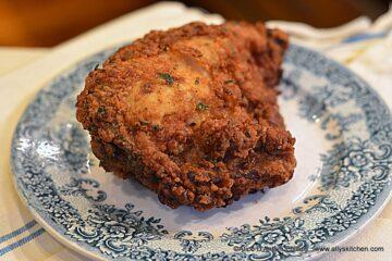 Buttermilk Crunchy Spicy Herb Chicken Breasts