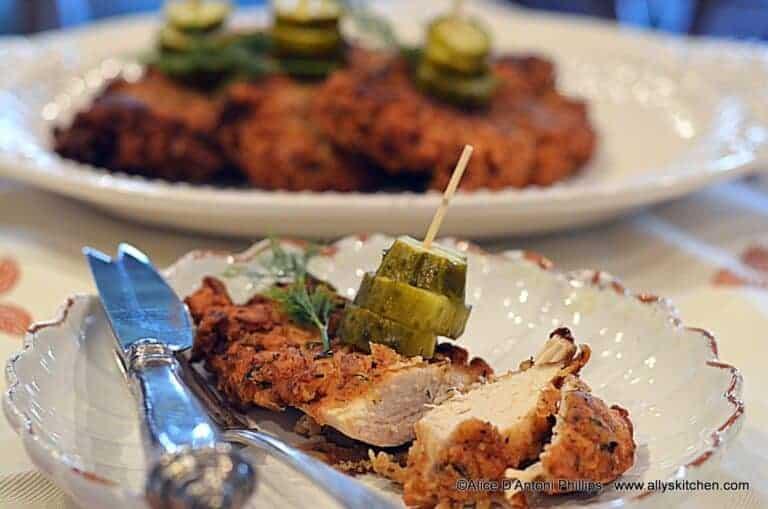 jamaican jerk spiced crispy chicken