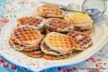 Vintage Buttermilk Sugar Waffles
