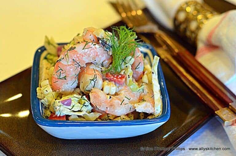 Shrimp Corn Dill Salad