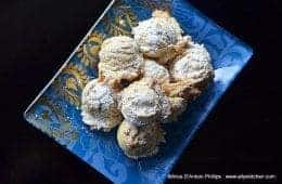 Orange Almond Wedding Cookies