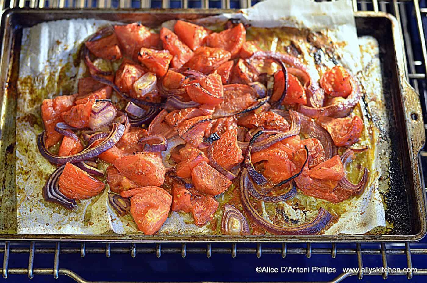 Ras el Hanut Tomatoes & Red Onions