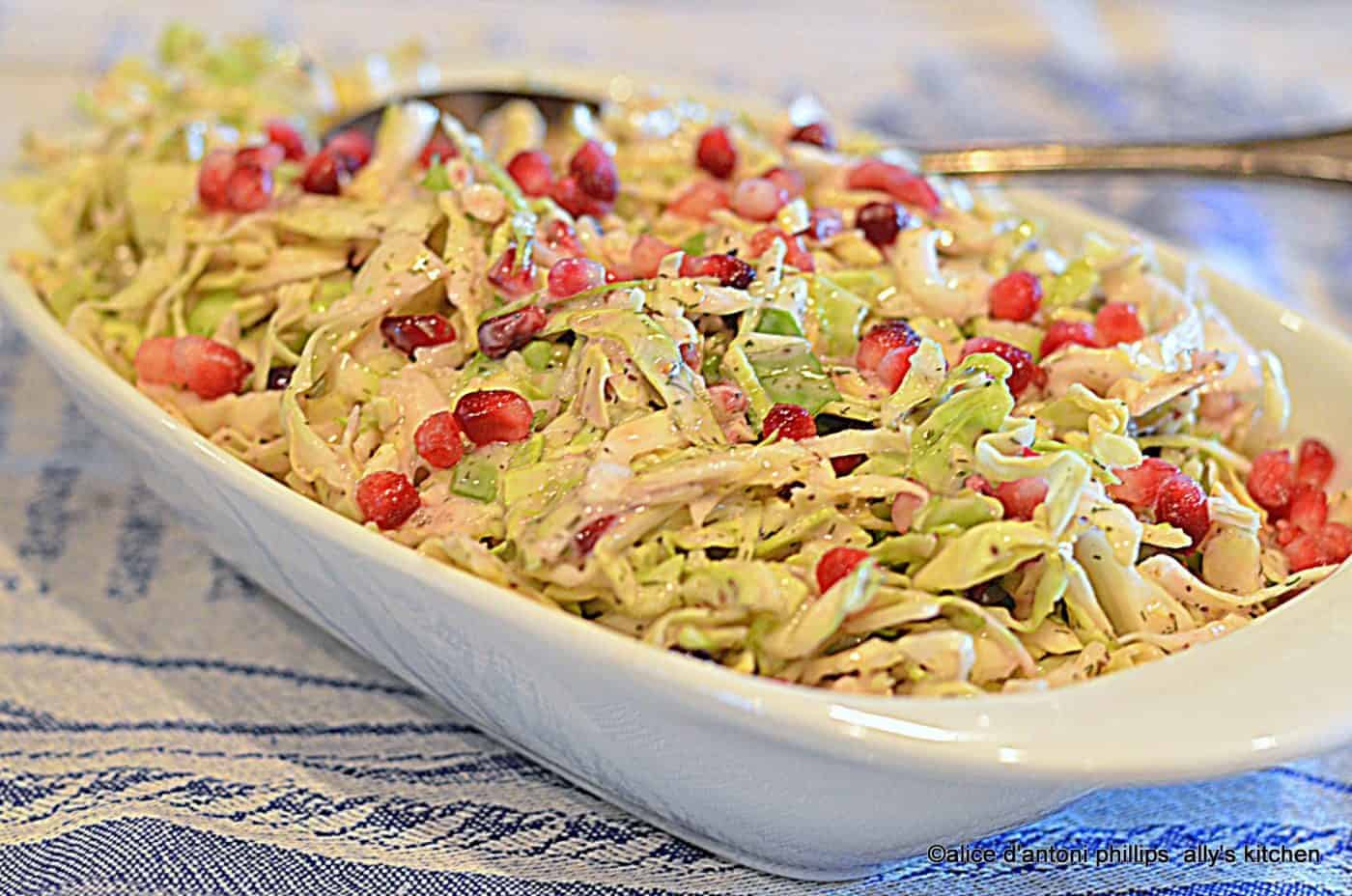 Pomegranate Coleslaw