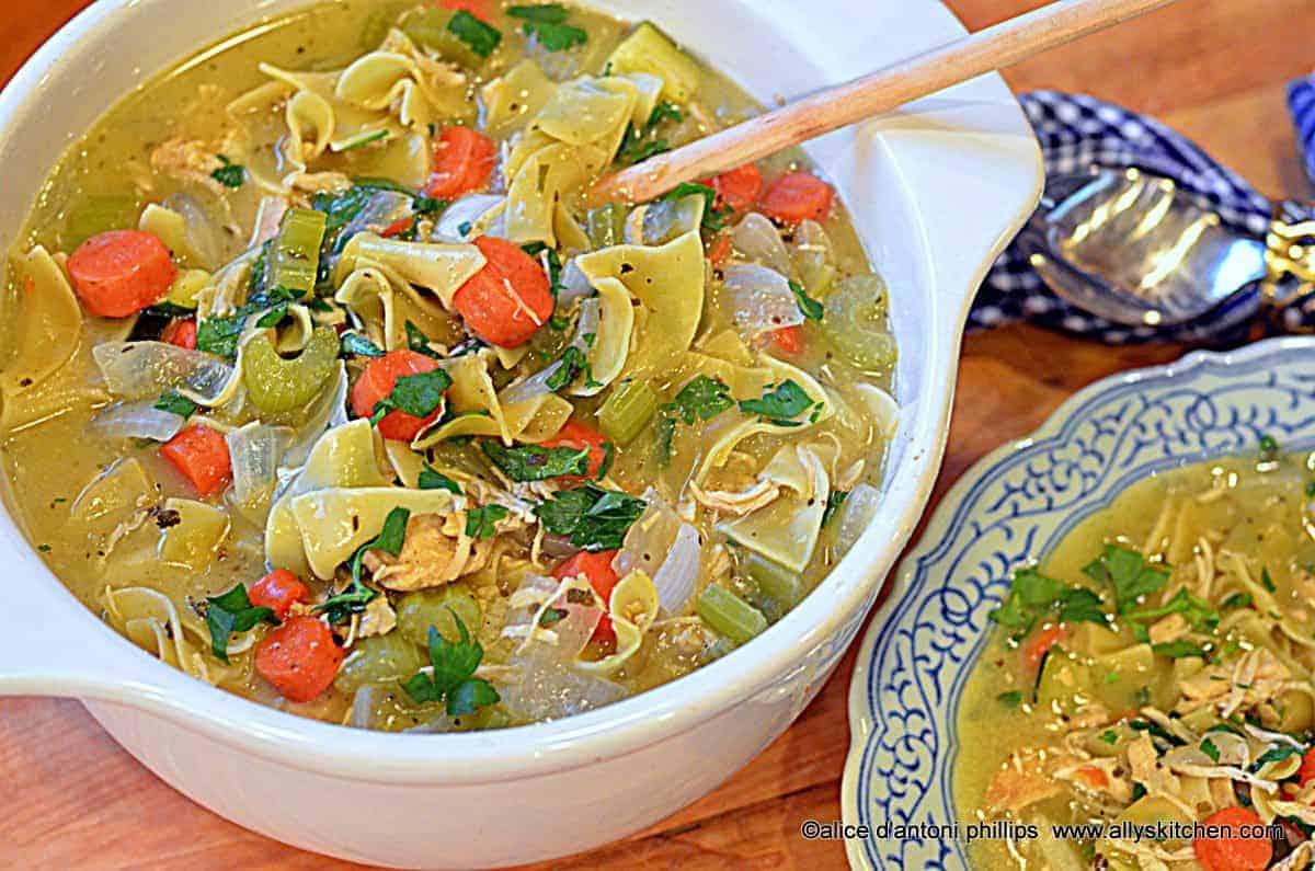 Chicken Italian Herb & Veggie Noodle Soup