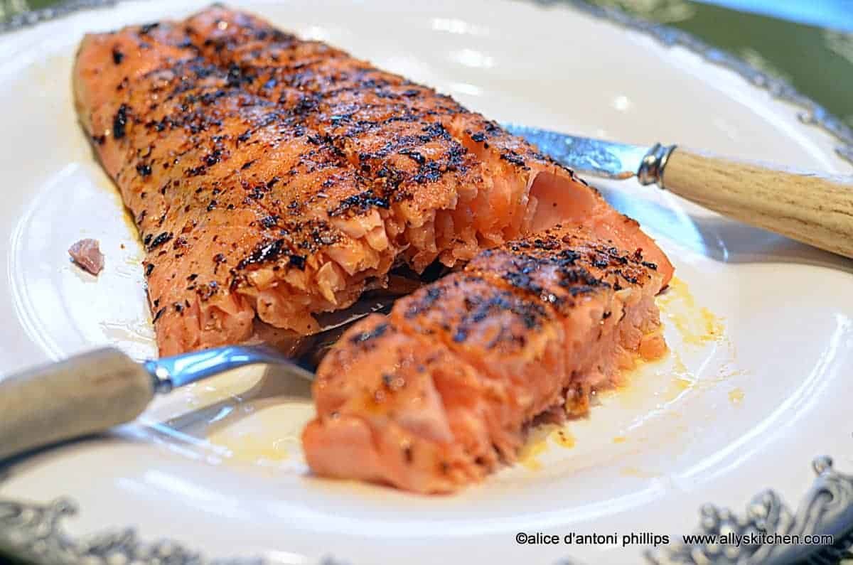 South African Spiced Salmon Egg